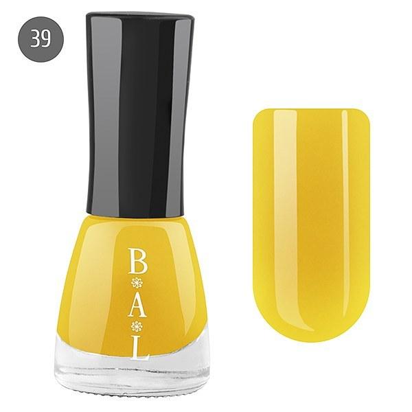 Bal Лак для ногтей 6мл №39 жёлтый RONA