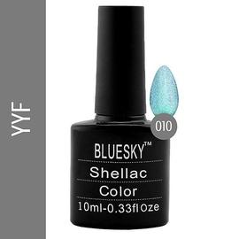 Bluesky гель-лак 10 мл №YYF10 ярко-зеленый с блеском