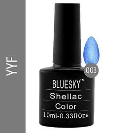 Bluesky гель-лак 10 мл №YYF03 голубой с блеском