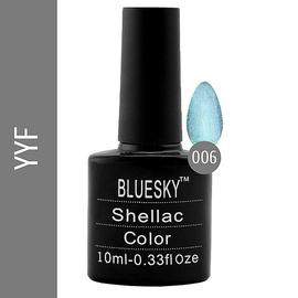 Bluesky гель-лак 10 мл №YYF06 зеленый с блеском