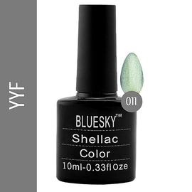 Bluesky гель-лак 10 мл №YYF11 болотный с блеском