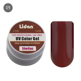 Lidan гель цветной CY09