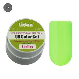 Lidan гель цветной CY18