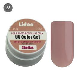 Lidan гель цветной CY22