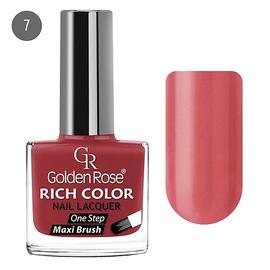 Golden Rose Лак для ногтей Rich Color 10.5мл №07