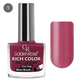 Golden Rose Лак для ногтей Rich Color 10.5мл №09