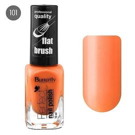 Butterfly Лак для ногтей Perfect 10мл №101 оранжевый