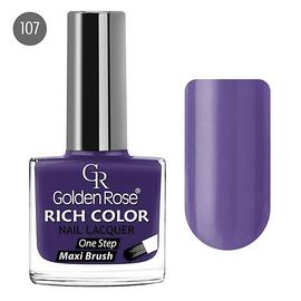 Golden Rose Лак для ногтей Rich Color 10.5мл №107