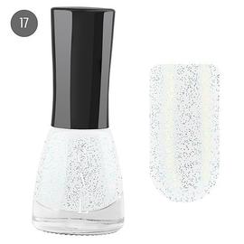Bal Лак для ногтей 6мл №17 блёстки серебро мульти
