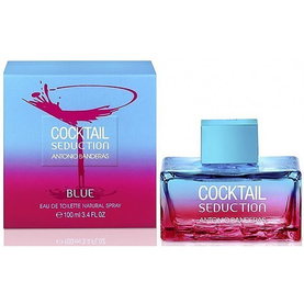 Antonio Banderas Cocktail Seduction Blue 100ml