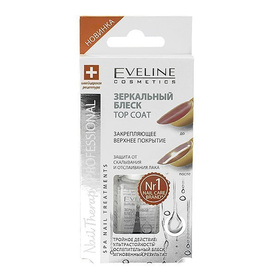 Eveline Nail Theraphy professional 12мл. Зеркальный блеск за 60сек