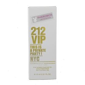 Парфюмерное масло с феромонами Carolina Herrera 212 VIP 10ml