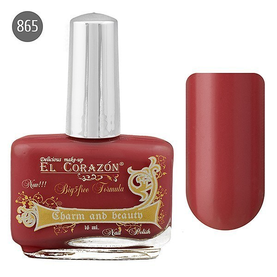 El Corazon Лак для ногтей Charm & Beauty 16мл №865