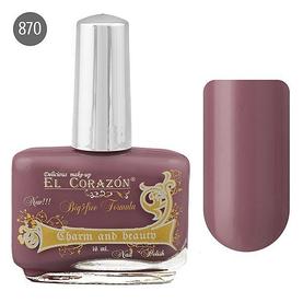 El Corazon Лак для ногтей Charm & Beauty 16мл №870