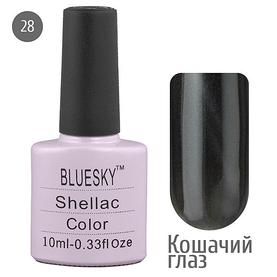 Bluesky гель-лак Cat eye 10мл №28 черный