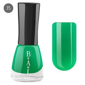 Bal Лак для ногтей 6мл №35 зеленый эмаль