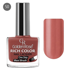 Golden Rose Лак для ногтей Rich Color 10.5мл №50