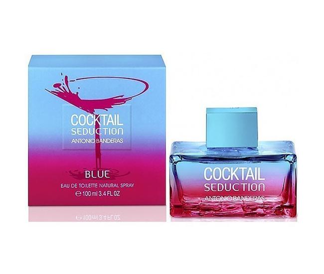 Antonio Banderas Cocktail Seduction Blue 100ml