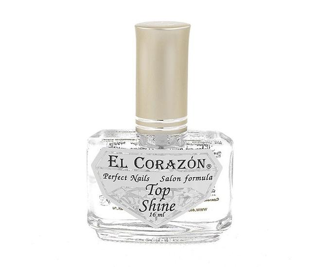 El Corazon Суперблеск-закрепитель лака д/ногтей №410 16мл
