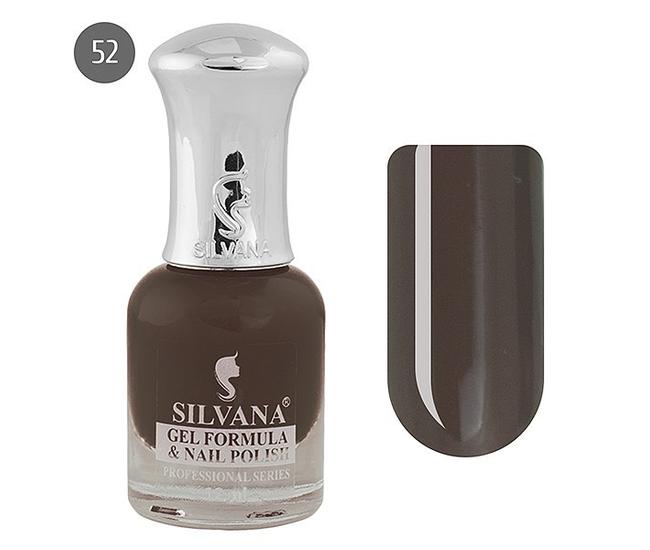 Silvana лак для ногтей с эффектом гель-лака 12ml №52