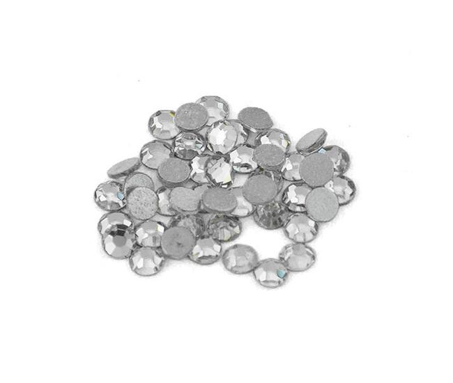 Стразы Swarovski SS3-1.4мм Crystal 40шт