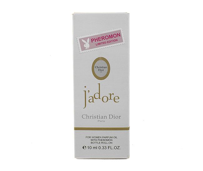 Парфюмерное масло с феромонами Christian Dior J'adore 10ml