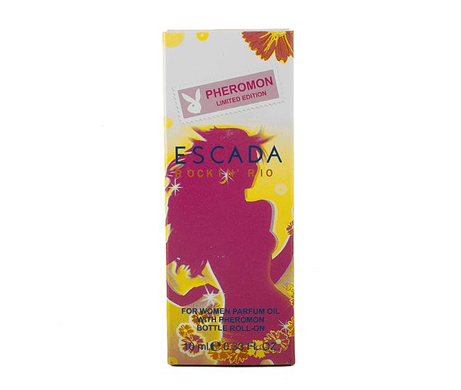Парфюмерное масло с феромонам Escada Rock In' Rio 10ml