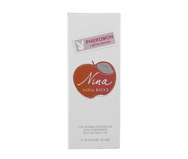 Парфюмерное масло с феромонами Cacharel Nina Ricci Nina 10ml
