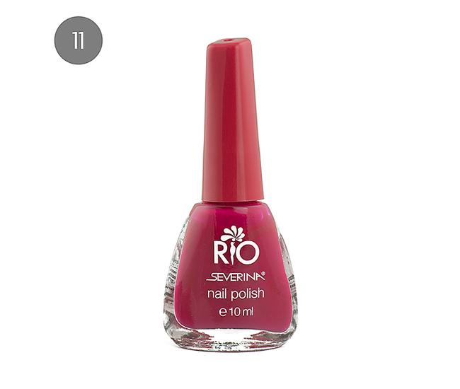 """Severina Лак для ногтей """"Rio'' 10мл №11 Розовый"""