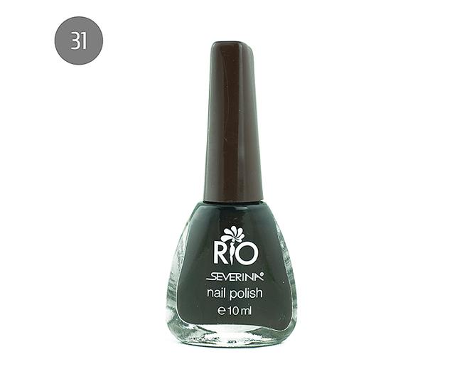 """Severina Лак для ногтей """"Rio'' 10мл №31 Коричневый"""