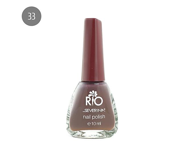 """Severina Лак для ногтей """"Rio'' 10мл №33 Сиреневый,фиолетовый"""