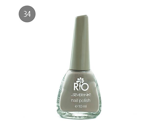 "Severina Лак для ногтей ""Rio'' 10мл №34 Бежевый"