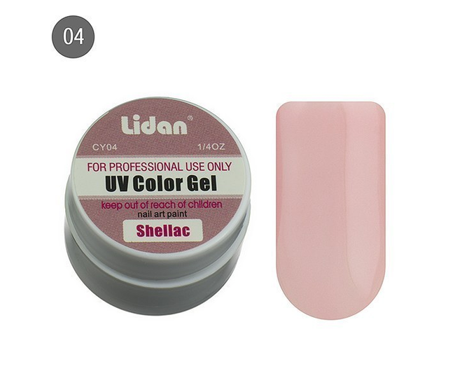Lidan гель цветной CY04