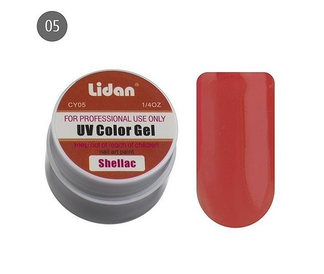 Lidan гель цветной CY05