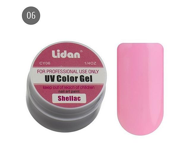 Lidan гель цветной CY06
