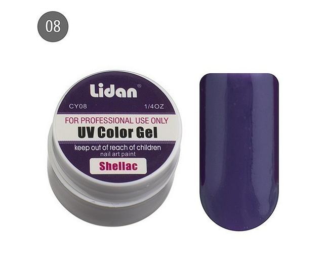 Lidan гель цветной CY08