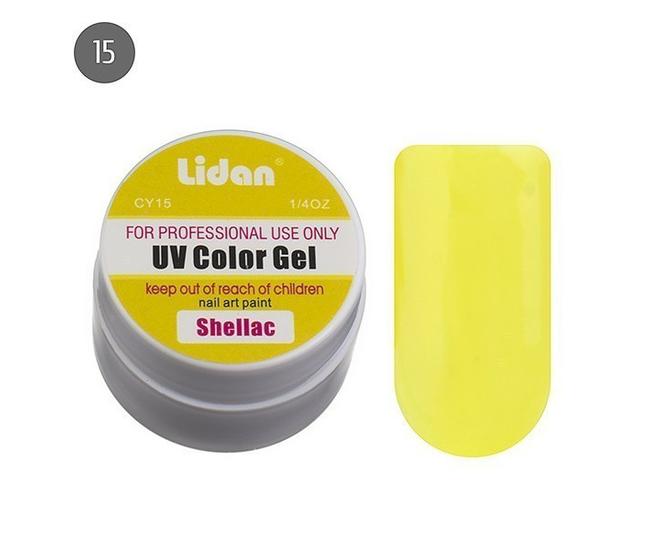 Lidan гель цветной CY15