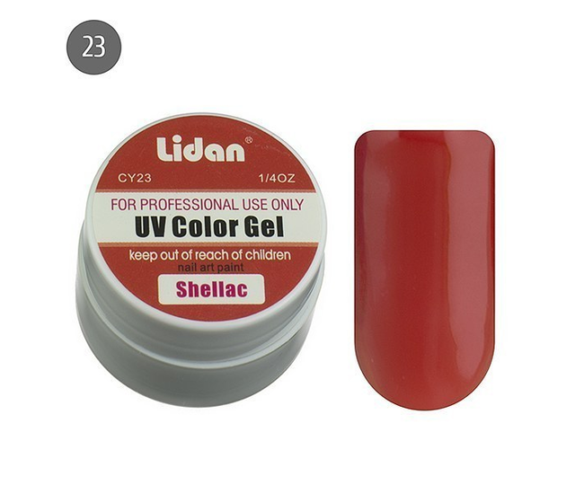 Lidan гель цветной CY23