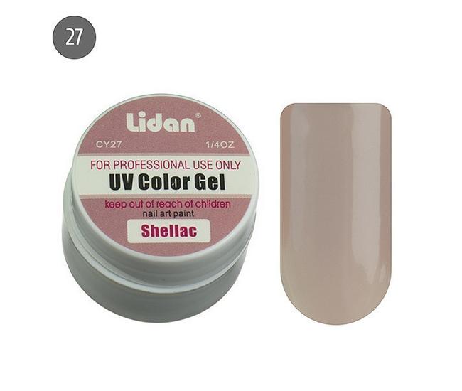 Lidan гель цветной CY27