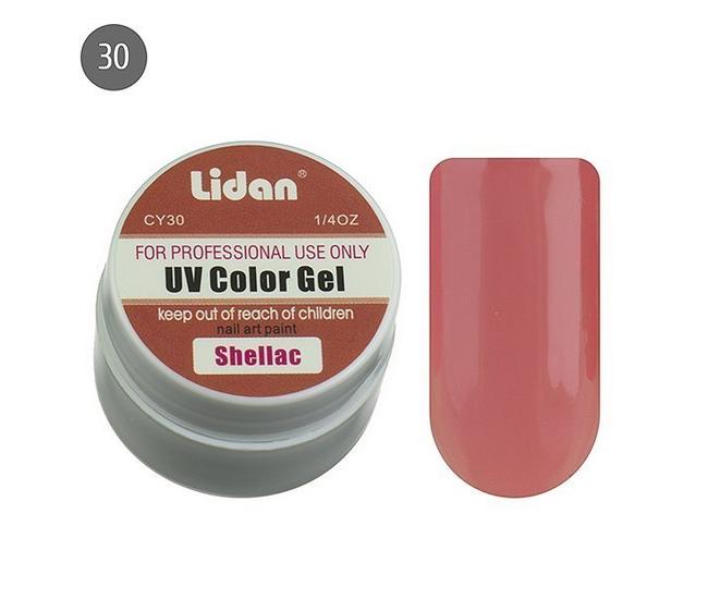 Lidan гель цветной CY30