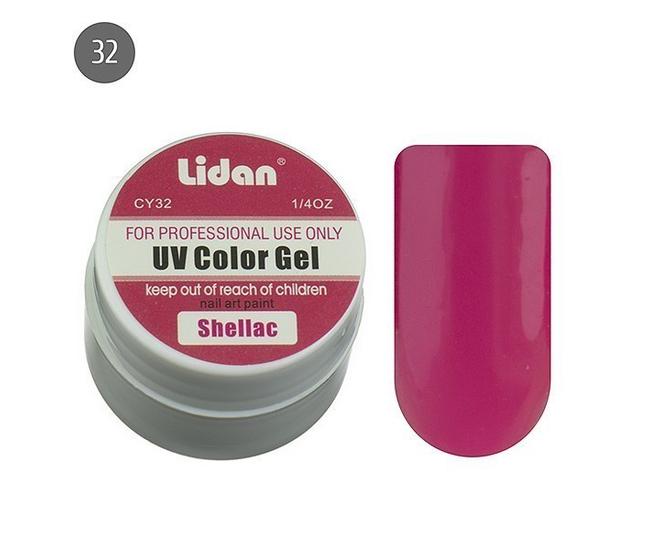 Lidan гель цветной CY32