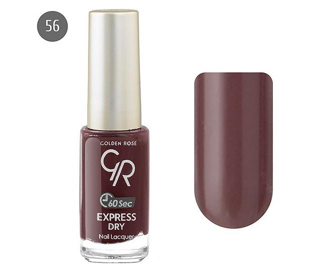 Лак для ногтей Golden Rose Express Dry №56 10мл