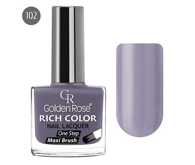 Golden Rose Лак для ногтей Rich Color 10.5мл №102