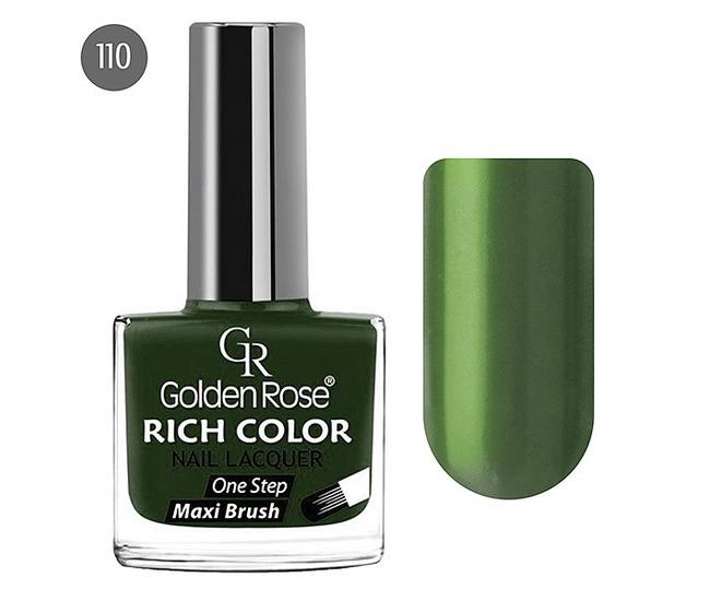 Golden Rose Лак для ногтей Rich Color 10.5мл №110