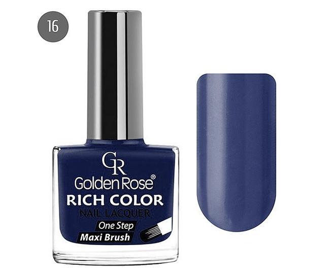 Golden Rose Лак для ногтей Rich Color 10.5мл №16