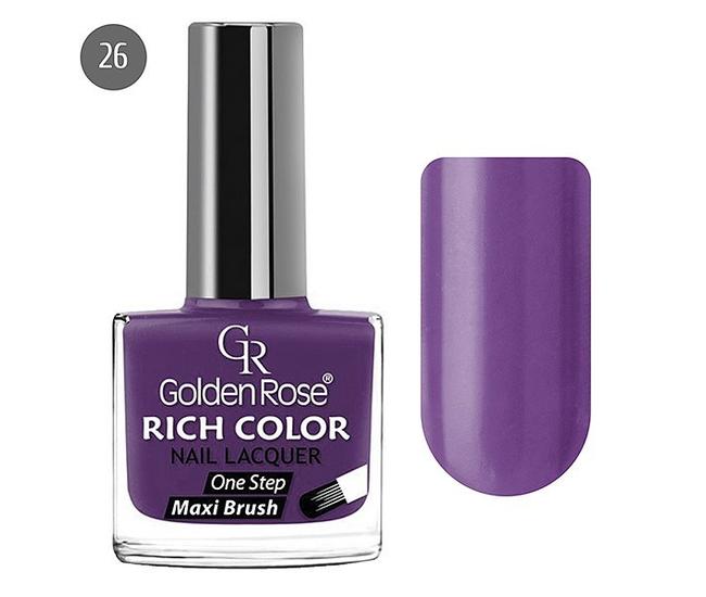 Golden Rose Лак для ногтей Rich Color 10.5мл №26