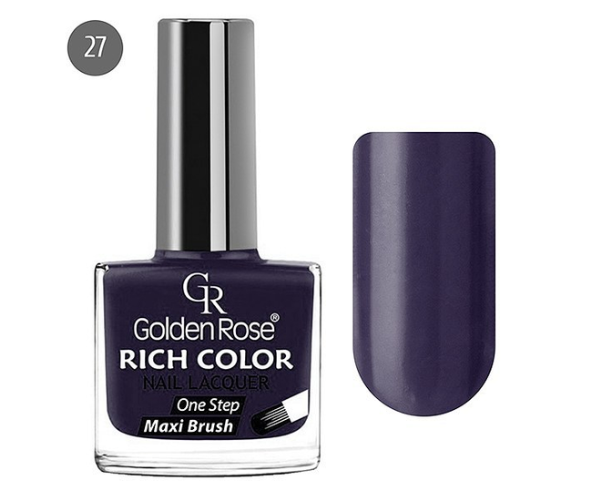 Golden Rose Лак для ногтей Rich Color 10.5мл №27