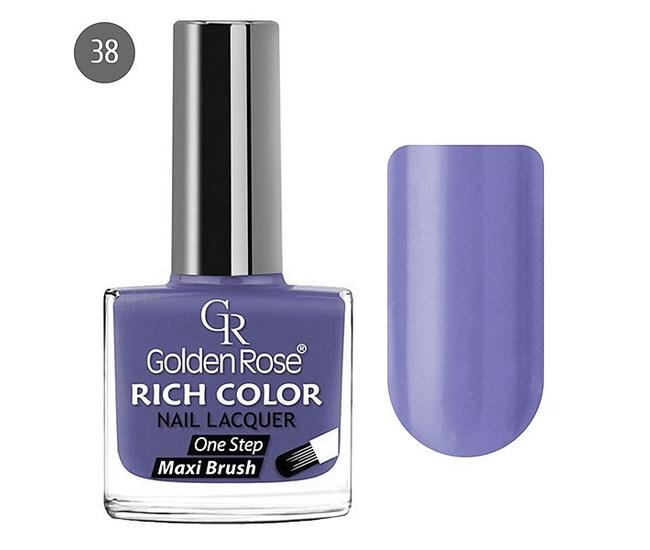 Golden Rose Лак для ногтей Rich Color 10.5мл №38