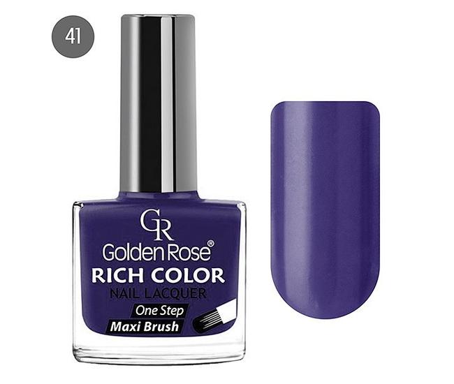 Golden Rose Лак для ногтей Rich Color 10.5мл №41