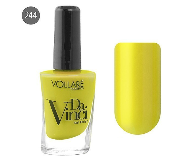 Vollare Лак для ногтей Da Vinci 11мл №244